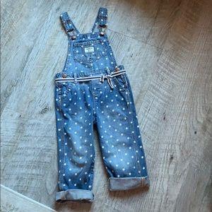 OshKosh overalls size 3T